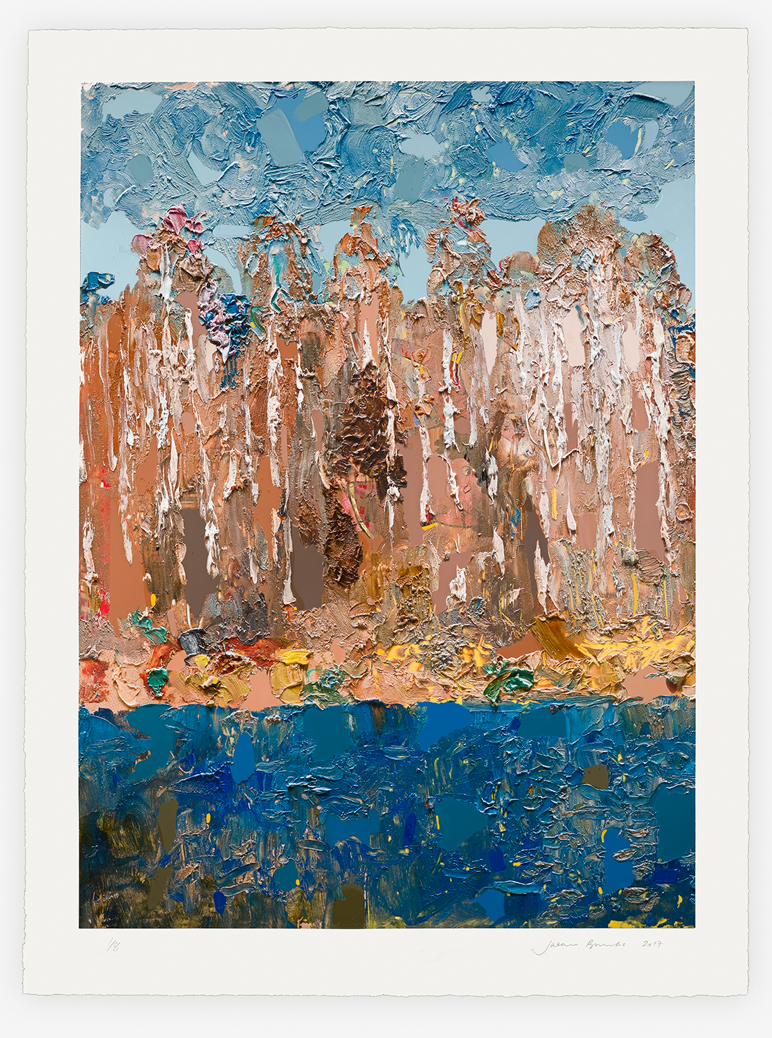 Brooks_Instinct of hope, 2018, print, 48 x 110 cm